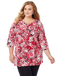 Floral Fantasy Easy Fit Tee