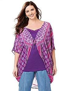 Boho Berry Cocoon
