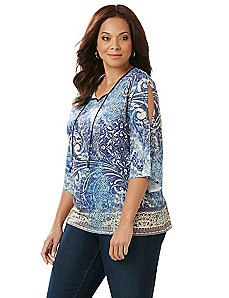 Montage Peasant Top