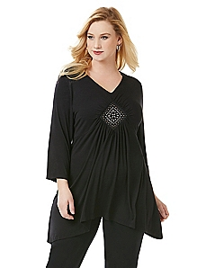AnyWear Medallion Tunic