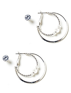 Everyday Essentials Earrings Duo