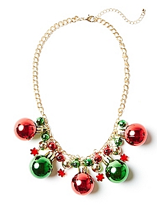 Holiday Bell Necklace