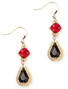 Scarlet Fire Earrings