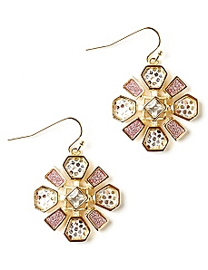 Floral Shine Earrings