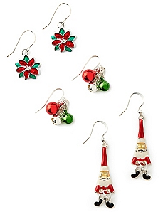 Holiday Trio Earrings