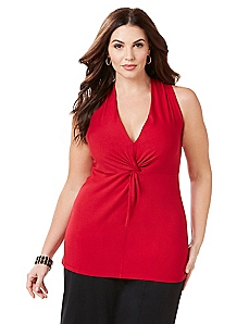 Curvy Collection Why Knot Top