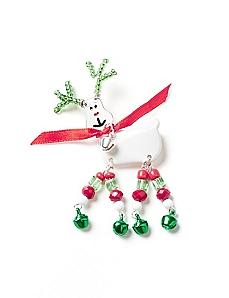 Merry Reindeer Pin