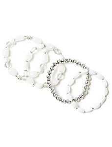 Pure Snow Bracelets