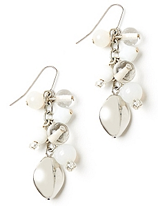 Pure Snow Earrings