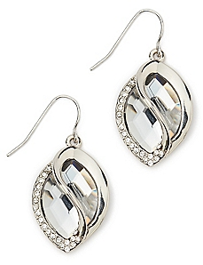 Teardrop Twist Earrings