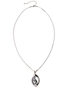 Teardrop Twist Necklace