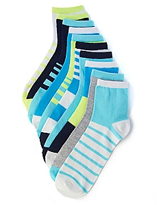 Spring Stripes 10-Pack Socks