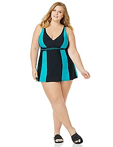 Jade Mirage Swimdress