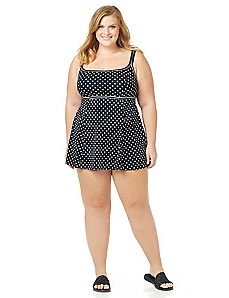 Candy Dot Swimdress