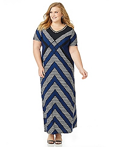 New Angles Maxi Dress