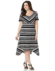 Moonlight Stripe Dress