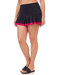 La Flor Swim Skirt