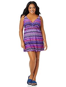 Berry Sunset Swimdress