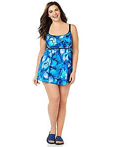 Midnight Water Swimdress
