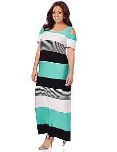 City Stripe Maxi