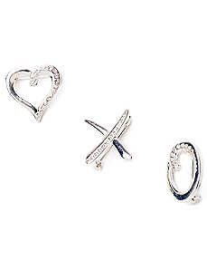 Love Trio Pin Set