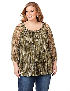 Excursion Cold-Shoulder Top