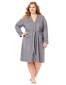 Modern Snap-Front Robe
