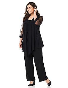 Sheer Simplicity Pantsuit