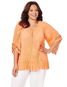 Carmel Pleated Top