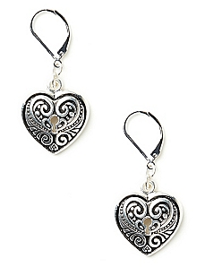 Captive Heart Earrings