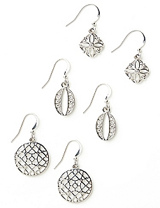 Filigree Trio Earrings