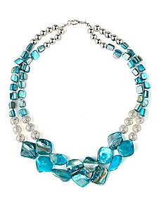 Ocean Shell Short Necklace