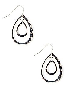 Infinity Teardrop Earrings