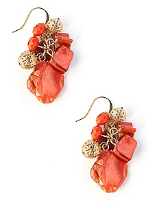Sunset Shell Cluster Earrings