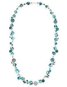 Ocean Shell Long Necklace