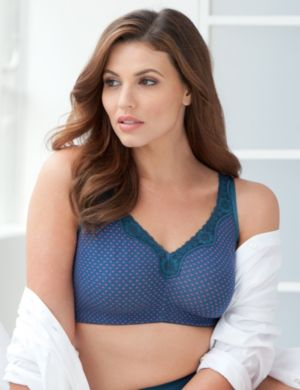 Paris Amore No-Wire Cotton Comfort Bra