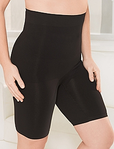 Hi-Waist Seamless Thigh Shaper by CATHERINES