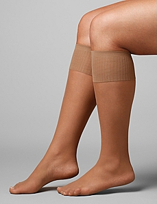 Sheer Knee Highs by CATHERINES