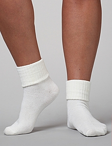 Triple Roll Socks by CATHERINES