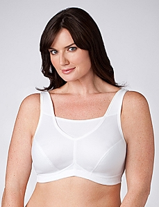 Glamorise® Mesh Trim Sports Bra by CATHERINES