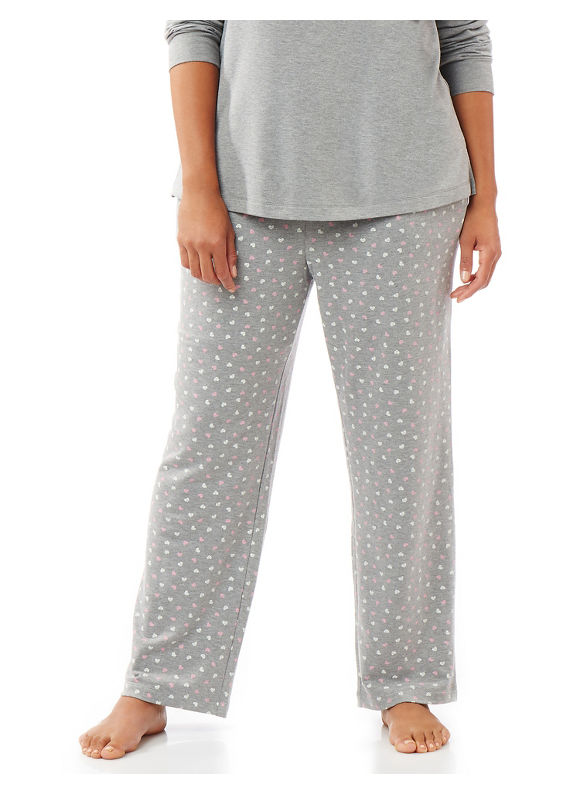 Catherines Intimates Plus Size Weekend,  I Love You Sleep Pant,  Women' Size: 2  Gray plus size,  plus size fashion plus size appare