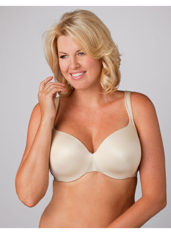 Catherines Women's Plus Size/Winter White Balconette Underwire Bra - Size