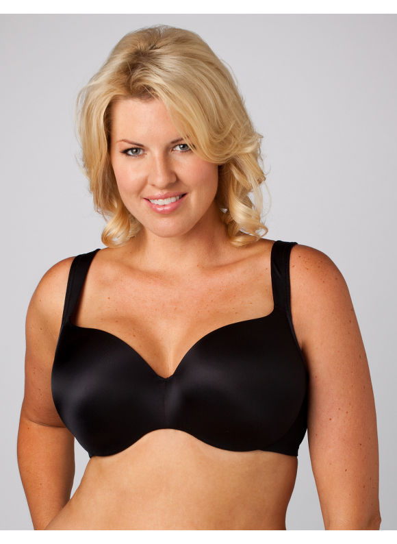 Catherines Women's Plus Size/Black Serenada Balconette Underwire Bra -