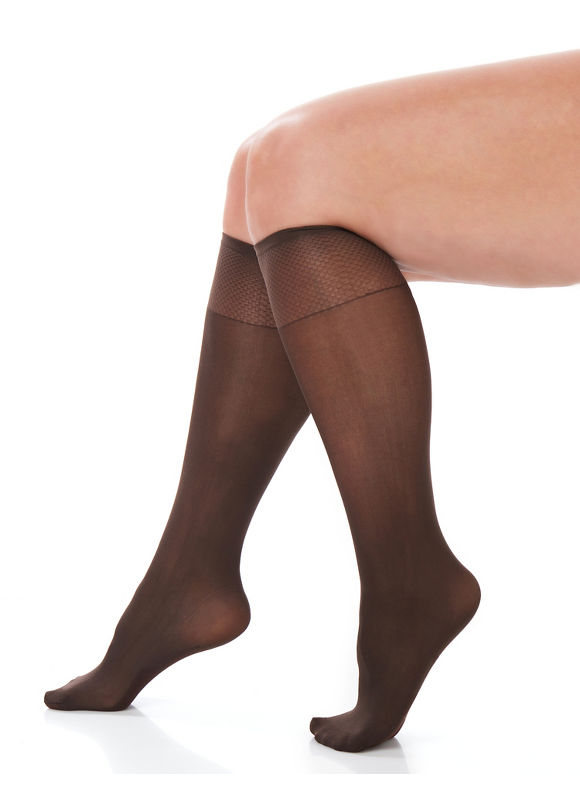 Catherines Plus Size Essential Trouser Sock Women' Brown plus size,  plus size fashion plus size appare