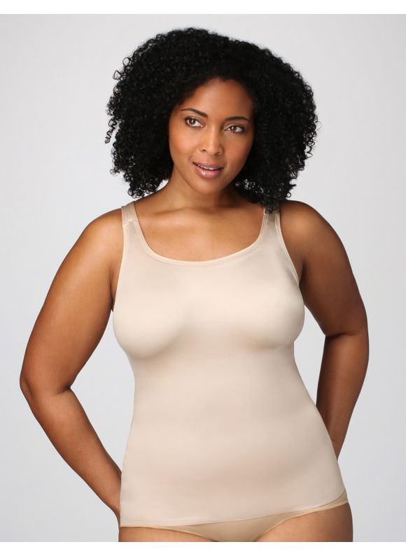 Catherines Plus Size Serenada Shaping Cami - Women\'s Size 48, Nude -