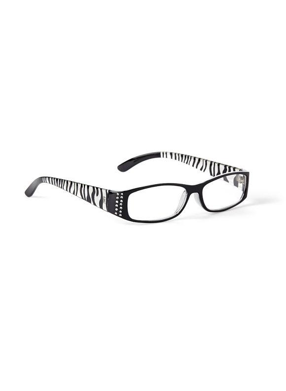 Catherines Neoblock Reading Glasses, Black - Catherines ~ Classic Plus Size Clothes