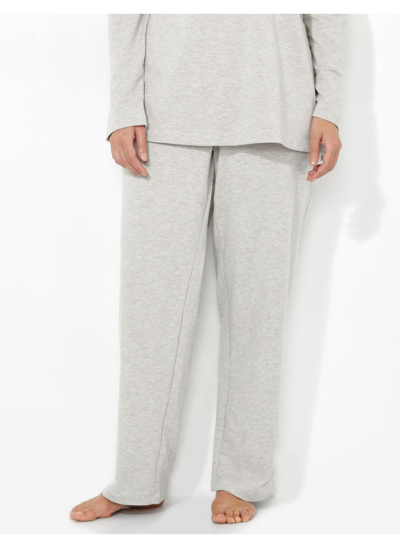 Catherines Intimates Plus Size Cozy Collection Weekend Lounge Pant, Women's, Size: 1X,2X,3X,0X, Oatmeal Heather - Catherines ~ Classic Plus Size Clothes