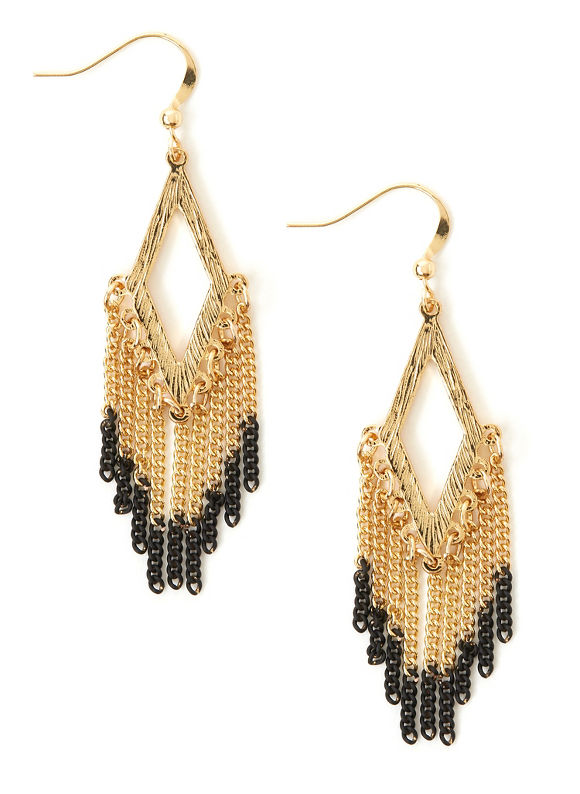 Catherines Energy Earrings, Women's, Black - Catherines ~ Classic Plus Size Clothes