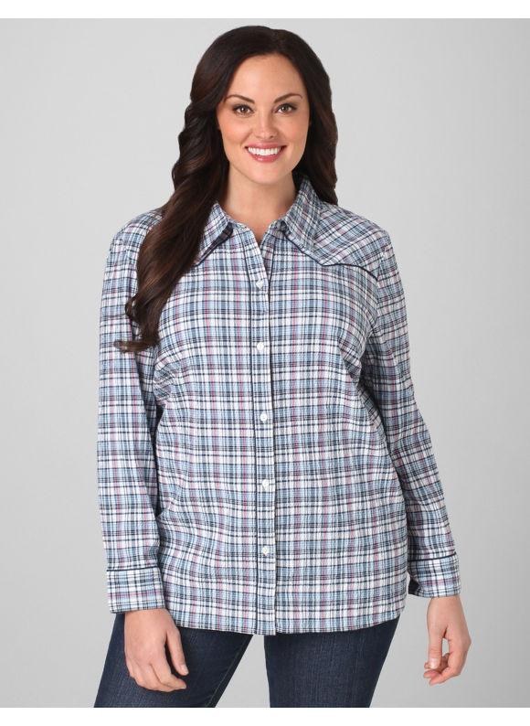 Womens Plus Size Chambray Shirts Deartha Women 39 S Plus