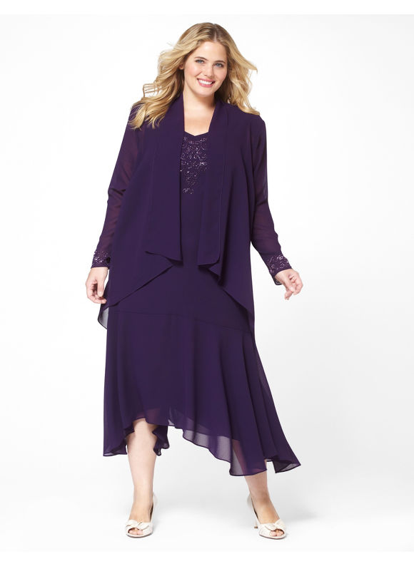 Purple Jacket Dress